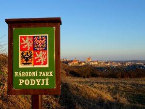 Národní park Podyjí značka