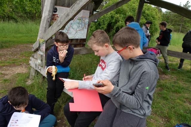 program pro školy aneb čeština v přírodě. NP Podyjí, Špalkova rozhledna, rébusy