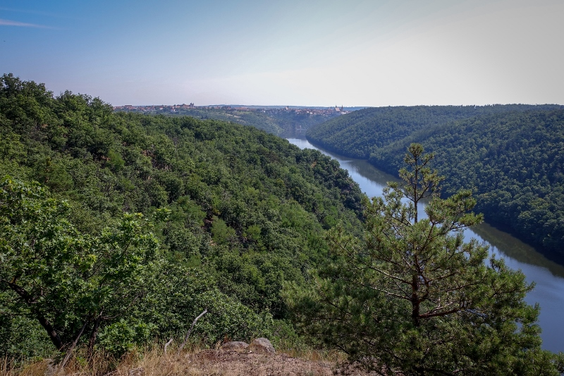 Národní park Podyjí, Znojmo, Znojemská přehrada