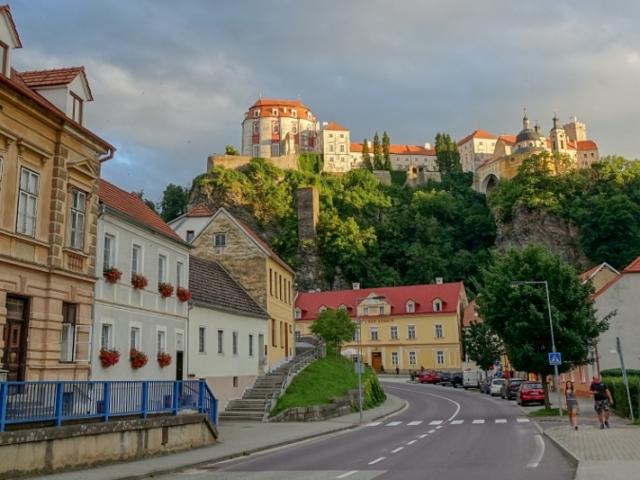 Národní park Podyjí, zámek Vranov nad Dyjí